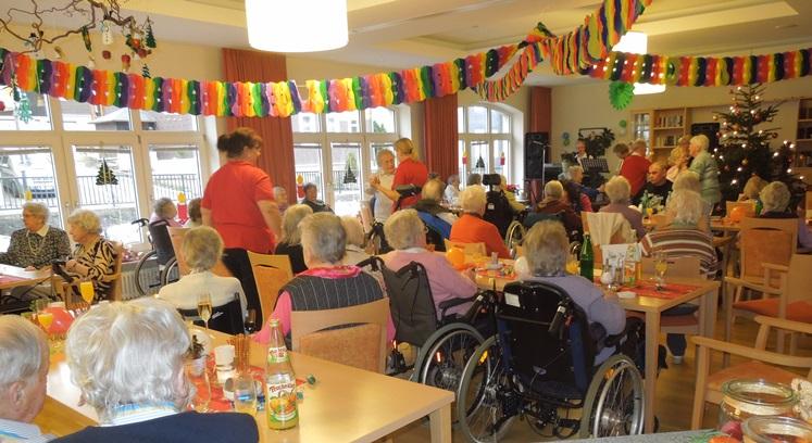 DRK Altenheim Aktivitäten Harz